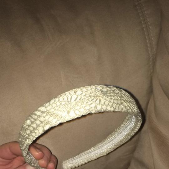 Other Beige Crochet Headband
