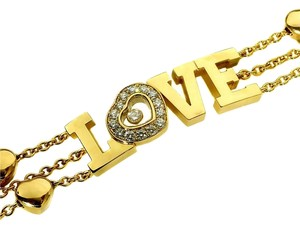 Chopard Chopard Happy Diamond Gold Heart Bracelet