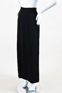 Chanel Boutique 96a Maxi Skirt Black