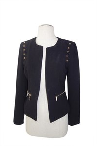 Other Sexy And Gold Gold Coat Jacket One Of A Kind Worn Once Black Blazer