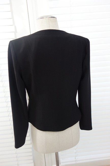 Other Sexy And Gold Gold Coat Jacket One Of A Kind Worn Once Black Blazer Image 5