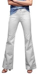 Gap 1969 Cotton Blend Denim Flare Leg Jeans-Light Wash