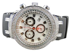 Joe Rodeo Mens Joe Rodeo/Jojo White Face Master 242 Diamond Watch 2.2 Ct Jjm 86