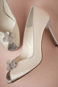 Something Bleu Bridal Bridal Glitter Wedding Shoes