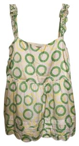 Juicy Couture Top Green & yellow