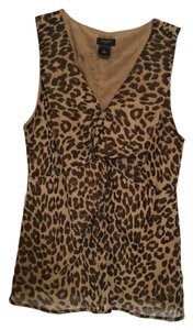 Ann Taylor Top Animal print
