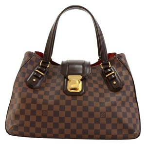 Louis Vuitton Damier Ebene Damier Ebene Damier Ebene Tote in Brown