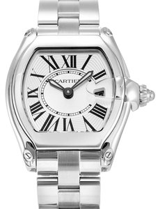 Cartier Cartier Roadster W62016V3 Silver Dial Stainless Steel Watch