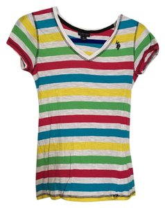 U.S. Polo Assn. T Shirt Multi stripe