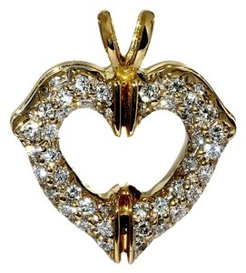 Cartier Cartier Heart Gold Diamond Pendant