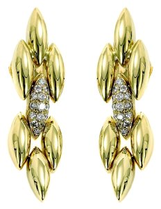Cartier Cartier Gentiane Diamond Gold Earrings