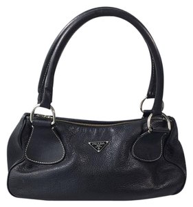 Prada Satchel in Dark Navy