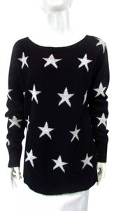 Express Long Sleeve Scoop Neck Star Sweater