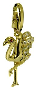 Cartier Cartier Flamingo Diamond Gold Charm Pendant