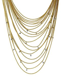 Cartier Cartier Draperie de Decollete Diamond Gold Necklace
