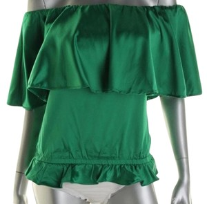 Rachel Lym Rachel Lym Jolee Green Convertible Cover-up and Blouse NWT $90 S
