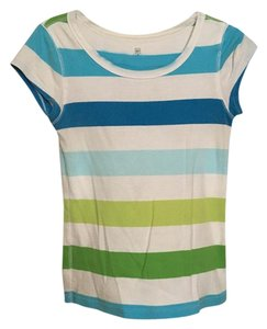 Gap T Shirt Multi blue
