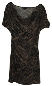Banana Republic short dress Black; Brown on Tradesy