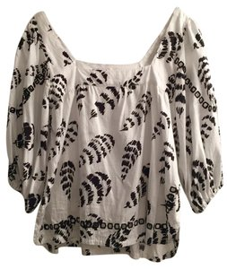 Sam & Lavi Top White & black