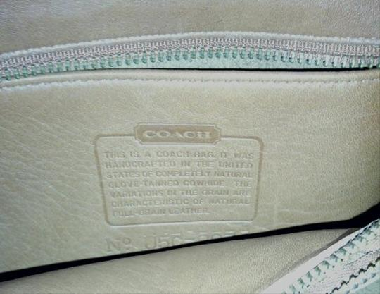 Coach Leather Vintage Leather Cross Body Bag