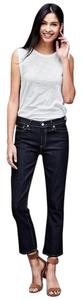 Gap Cotton Blend 1969 Denim New Flare Leg Jeans-Dark Rinse