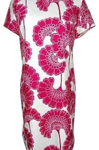 Kate Spade short dress Pink and White Floral on Tradesy
