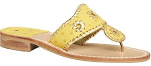 Jack Rogers yellow / gold Sandals
