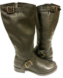 Frye Style #77605 Grain Leather Black Boots