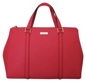 Kate Spade New With Tag Satchel in geranium
