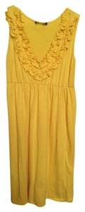 Star Vixen short dress Yellow on Tradesy