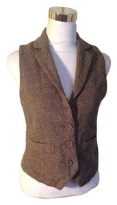 Fig London (Japanese designer) Wool Fitted Vest