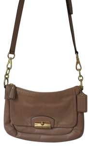 Coach Modern Tan Brown Cross Body Bag
