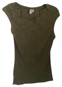 Anthropologie T Shirt Olive green