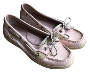 Sperry Pink and tan Athletic