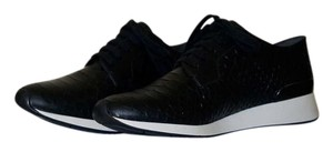 Vince Sneakers Black Python Athletic