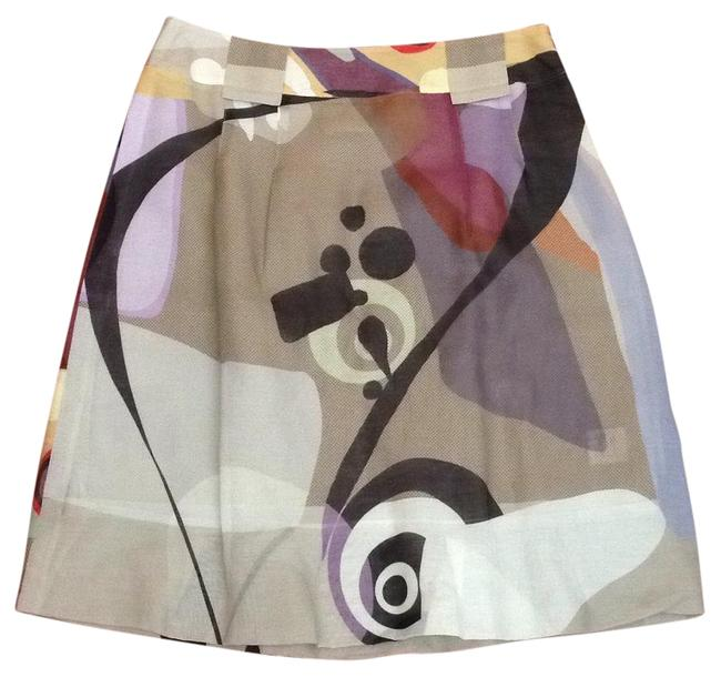 Item - Multicolor Graphic Skirt Size 6 (S, 28)