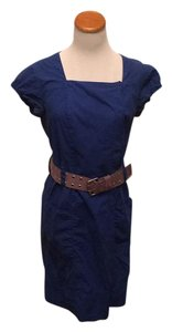Johnny Was short dress Blue Cargo Belted Goth 90's Industrial on Tradesy