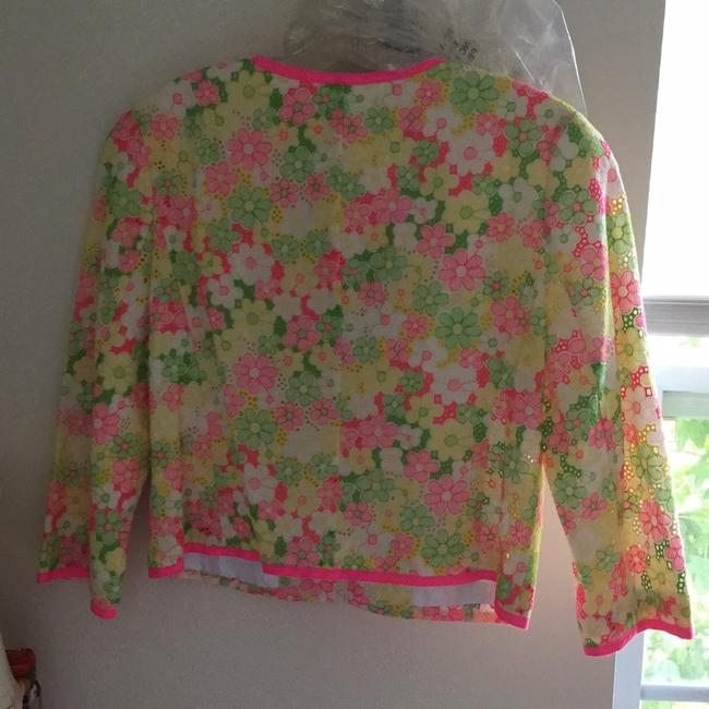 Lilly Pulitzer Multi floral sunbonnet lace Jacket Image 1