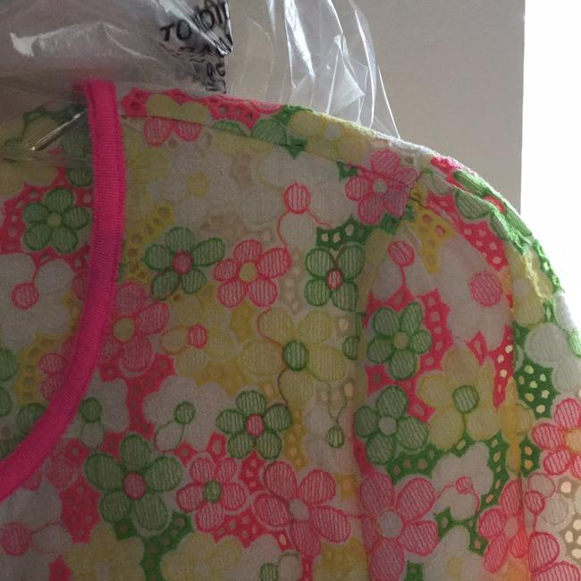 Lilly Pulitzer Multi floral sunbonnet lace Jacket Image 11