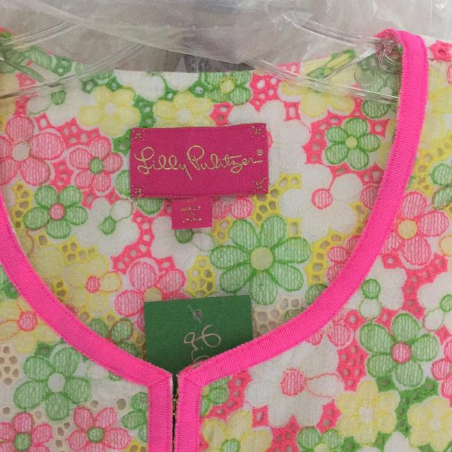 Lilly Pulitzer Multi floral sunbonnet lace Jacket Image 2