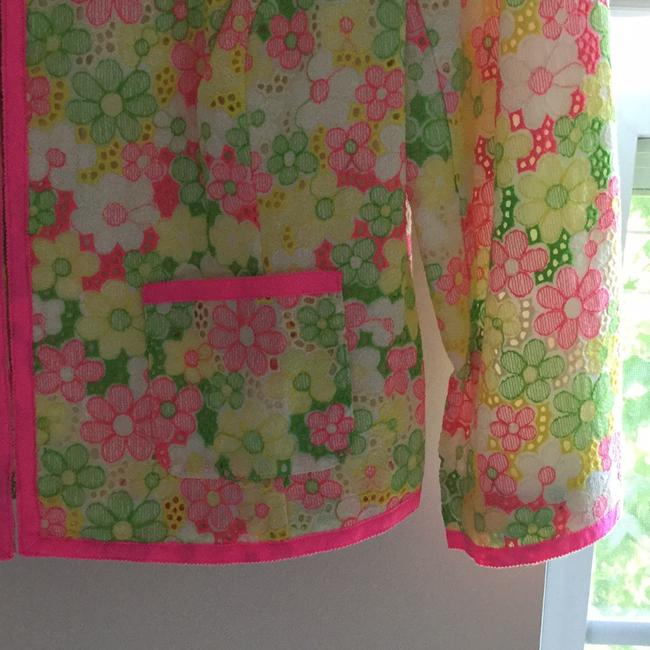 Lilly Pulitzer Multi floral sunbonnet lace Jacket Image 4