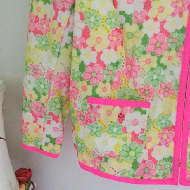 Lilly Pulitzer Multi floral sunbonnet lace Jacket Image 5
