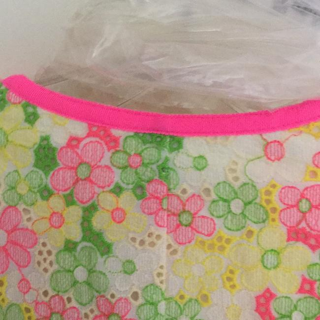Lilly Pulitzer Multi floral sunbonnet lace Jacket Image 6