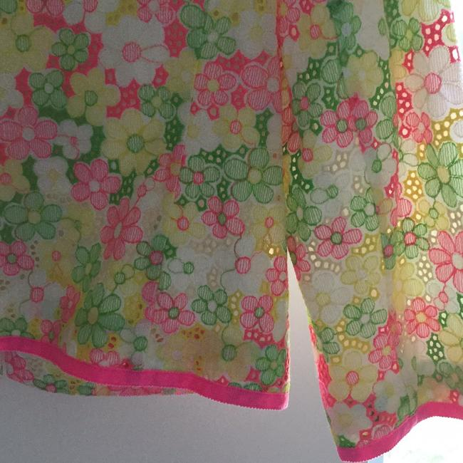 Lilly Pulitzer Multi floral sunbonnet lace Jacket Image 7