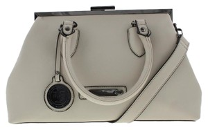 Versace 19.69 Satchel in Beige