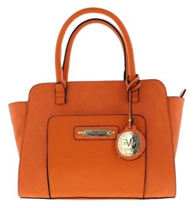 Versace 19.69 Satchel in Orange