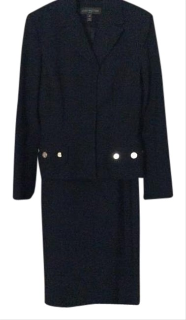 Preload https://img-static.tradesy.com/item/17942491/black-louis-vuitton-dress-and-blazer-wbeautiful-gold-lv-stamped-buttons-skirt-suit-size-6-s-0-1-650-650.jpg