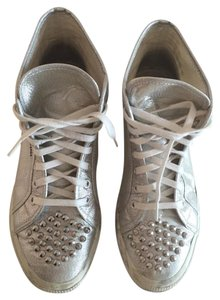 Superga Studded silver Athletic