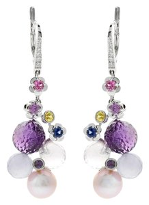 Chanel Chanel Mademoiselle Pearl Diamond Earrings