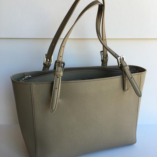 Tory Burch York Small York Tote in French Grey Image 2
